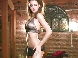 hot sexy erica ellyson stripping off her