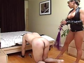 Horny slut torture the bondage cock