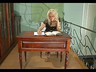 freaky playgirl talks her older lady boss