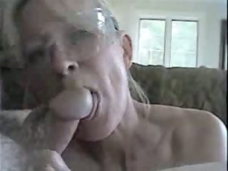 wife and spouse having trio oral job enjoyment