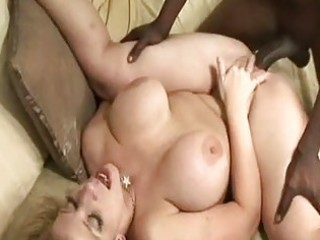 breasty pale golden-haired acquires her slit