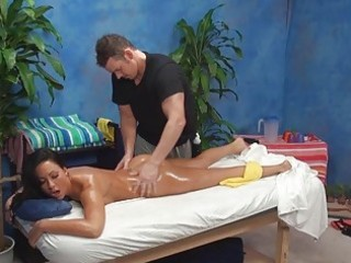 massage for sexy cutie with consummate a-hole