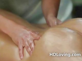 glamorous lesbian babes high def massage and