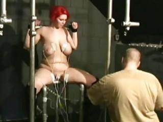 electrifying redhead slavery