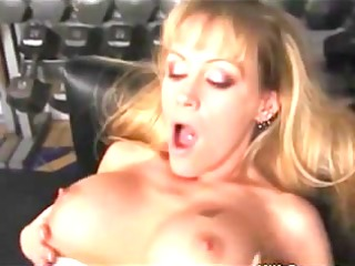 gym mother id like to fuck acquires her vagina