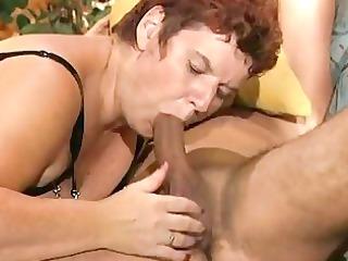 bulky older german lady enjoys a hard rod dbm
