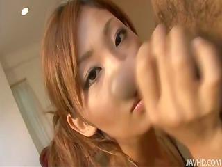erena kurosawa explores her boyfriends body with