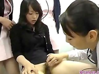 oriental angel getting her bushy cookie licked