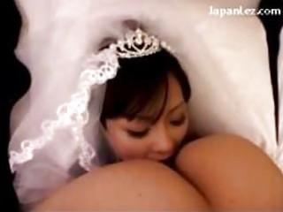 breasty bride licking fingering wet crack in 911