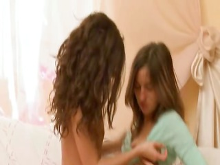 concupiscent lesbian legal age teenagers from