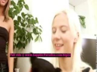 natalia and nichol lusty lesbian gals fingering