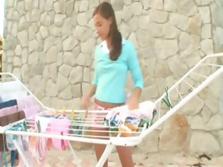girly joy outdoors of gals