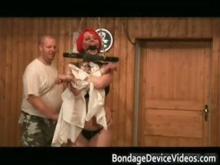 boobed scoops and red wig super sandm scene