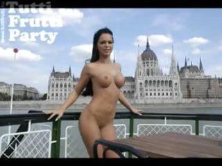 hungarian pornstar boat anal