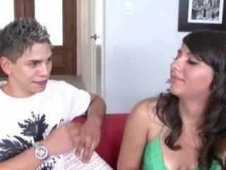 legal age teenager cutie giving her boyfriend