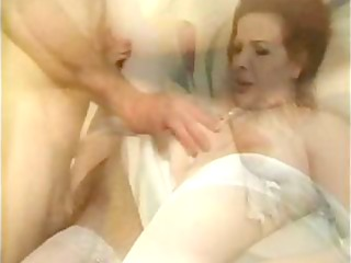 several preggy housewives have threesome sexy and