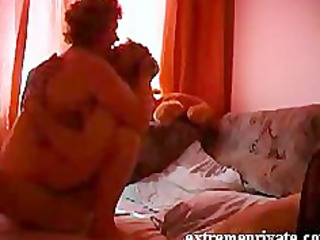 spying my big beautiful woman mommy with my