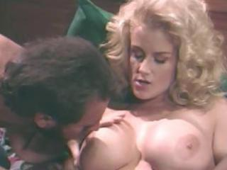 breasty blond playgirl sally layd eats shlong and