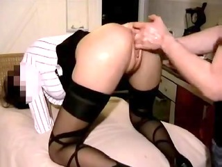 Homemade anal fisting