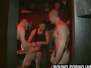 lad handcuffed up and gang drilled