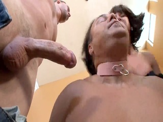 Cuckold Bi At Hands Of Brutal Domina