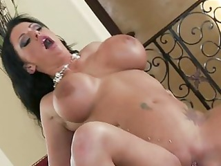 breasty dark brown with tattooes acquires her