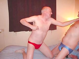 marc &; matt play wrestling