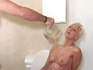Piss golden showers fun