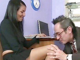 gracious guy copulates his girlfriend