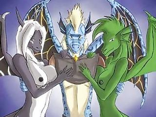 furry anime fantasy!