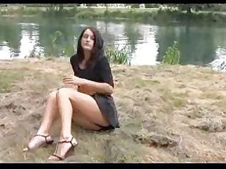 julie legal age teenager upskirt outdoor