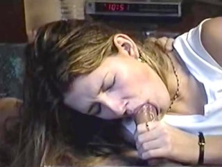 tinted golden-haired gives bj and swallows