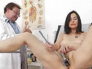 gray oma mamma old unshaved slit inspection