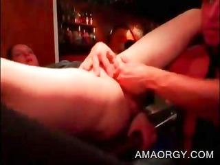 fuckfest hottie receives her wet crack finger