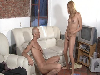 surprised to discover a knob on his hottie -
