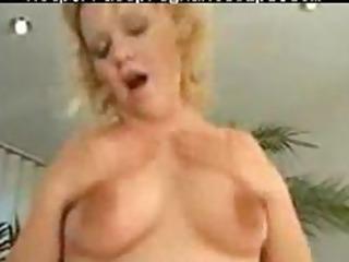 fascinating blond preggo shaggged on couch preggy