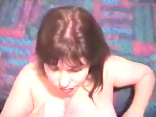 aged wife strokes pounder
