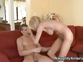 lewd momma erica lauren getting drilled on her