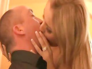 nasty golden-haired sexually excited wife