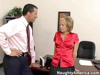 sexually excited office honey jenny hendrix