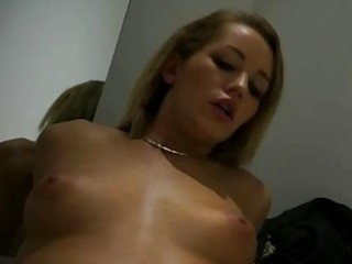 sultry sweetheart drilled in the dressing room