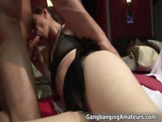 smutty aged floozy acquires her old twat part11