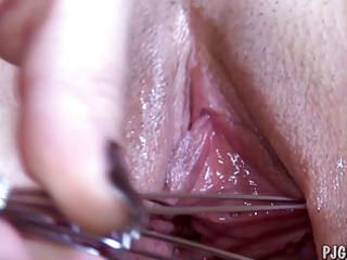 denisa wide open fur pie gaping close-ups gyno
