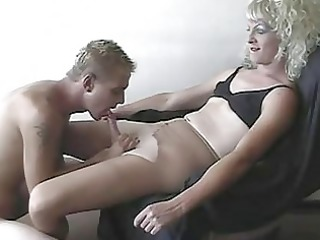 dilettante crossdresser and his paramour filming