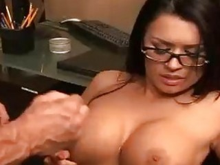 eva angelina acquires sprayed with a sticky laod