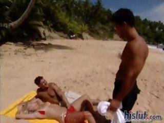 sandy got laid