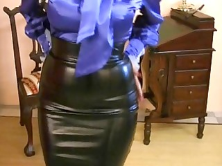 d like to fuck wearing constricted satin petticoat
