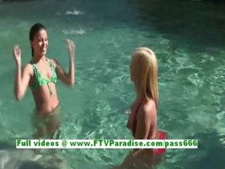 haley and hayden astonishing lesbian babes