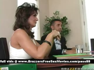 older breasty brunette hair floozy at a collision