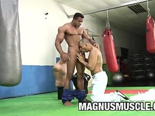 bodybuilder douglas masters acquires a pounding